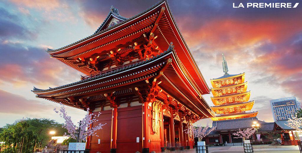 Craquez pour un voyage unique à Tokyo