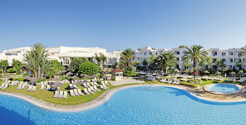 Bienvenue à l'Hôtel Club Magic Life Africana 5* - Hôtel Club Magic Life Africana 5* Hammamet
