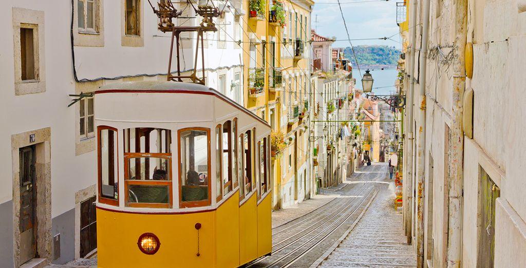 Puis l'atmosphère unique de Lisbonne vous charmera