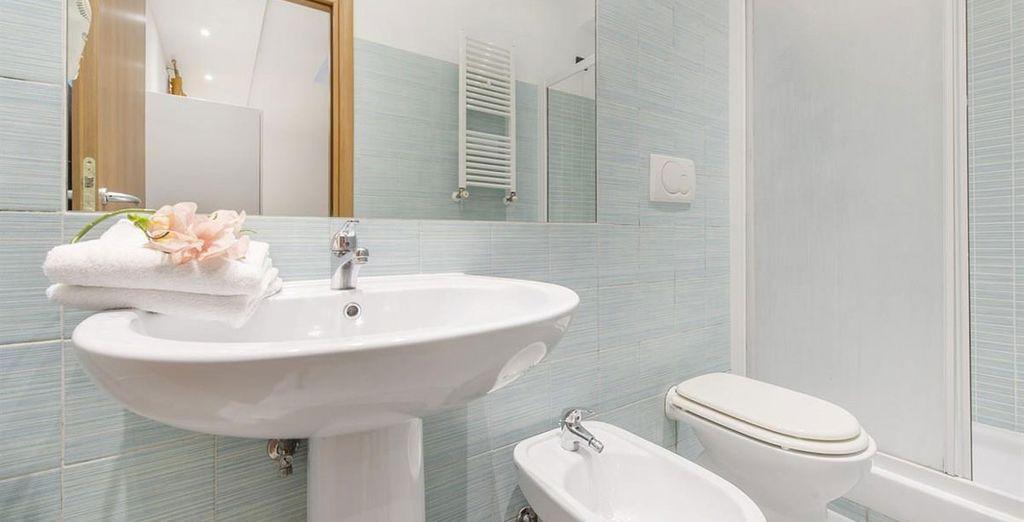 Appartement 6 : La sallle-de-bains