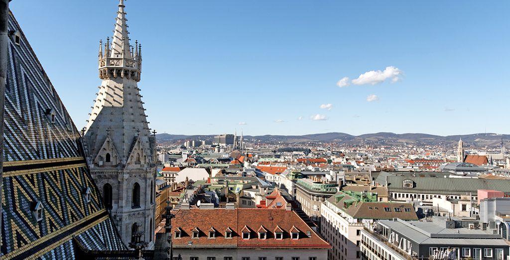 Photographie de la ville de Vienne et de ses architectures baroques