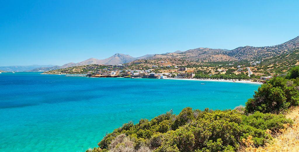 Vous découvrirez les beautés de Crète
