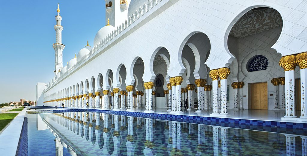 En plein coeur d'Abu Dhabi...