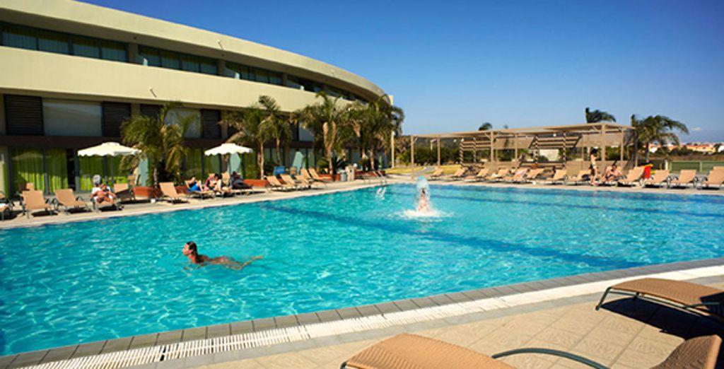Une belle piscine...