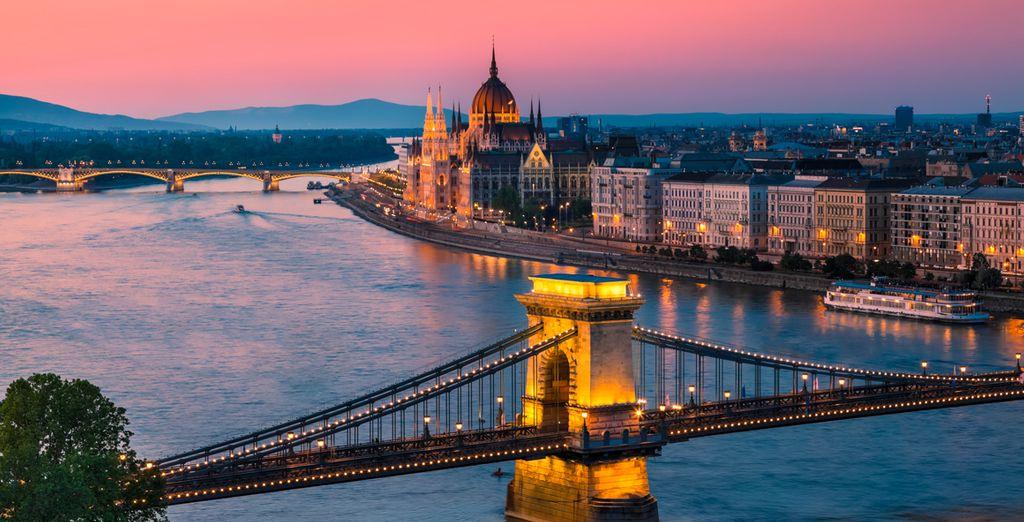 Continuez ensuite votre escapade vers Budapest