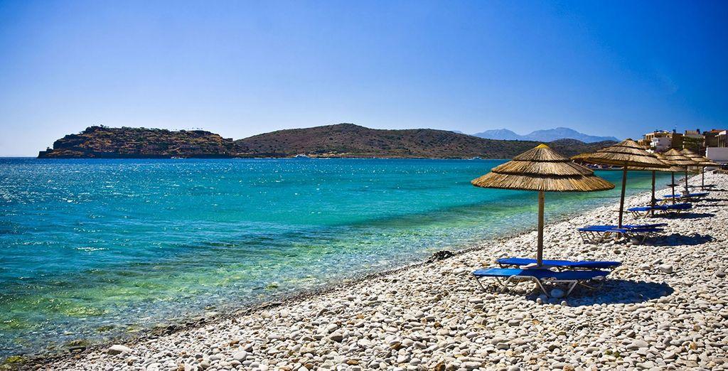 Rejoignez la plage située à 350 mètres pour de doux instants de farniente