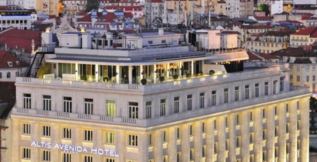 Découvrez l'hôtel Altis Avenida - Altis Avenida Hôtel 5*  Lisbonne