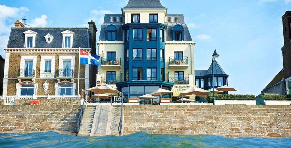 Photographie de Saint Malo et de ses belles architectures