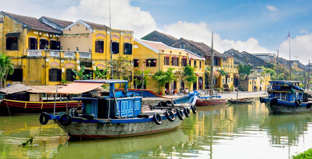 Explorerez la ville d'Hoi An...