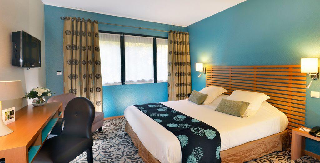 Hôtel de prestige avec lit double tout confort en plein centre de Nantes