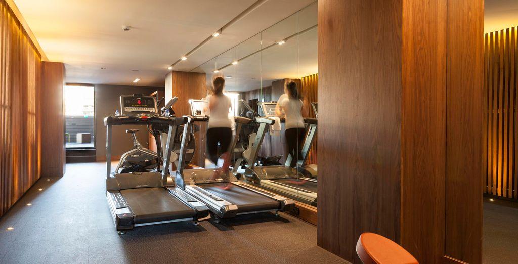 ... Gardez la forme à la salle de fitness