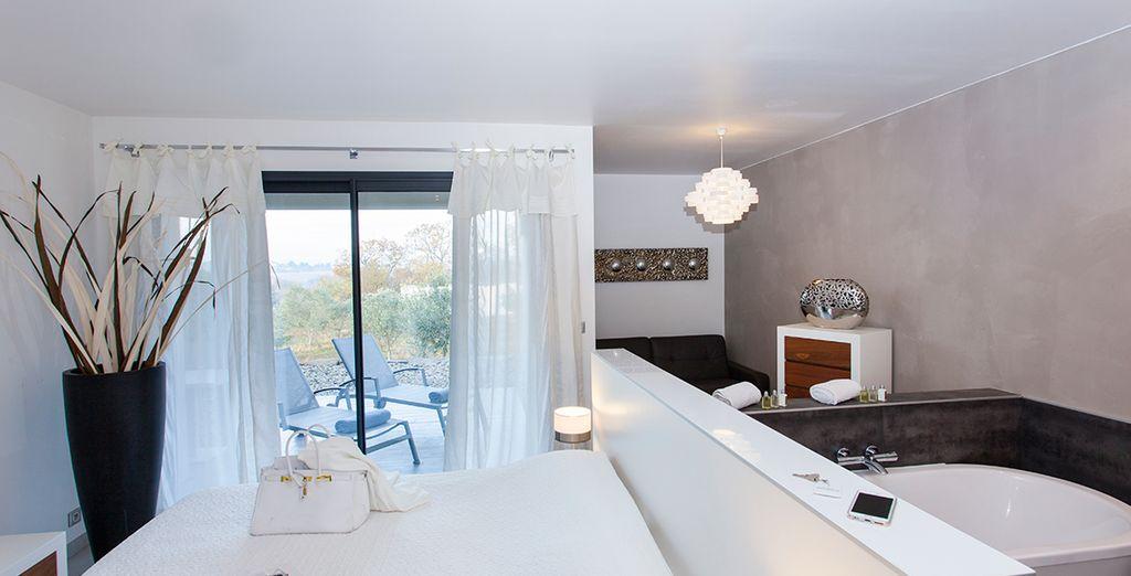 Choisissez la chambre qui vous ressemble : Charme Supérieure...