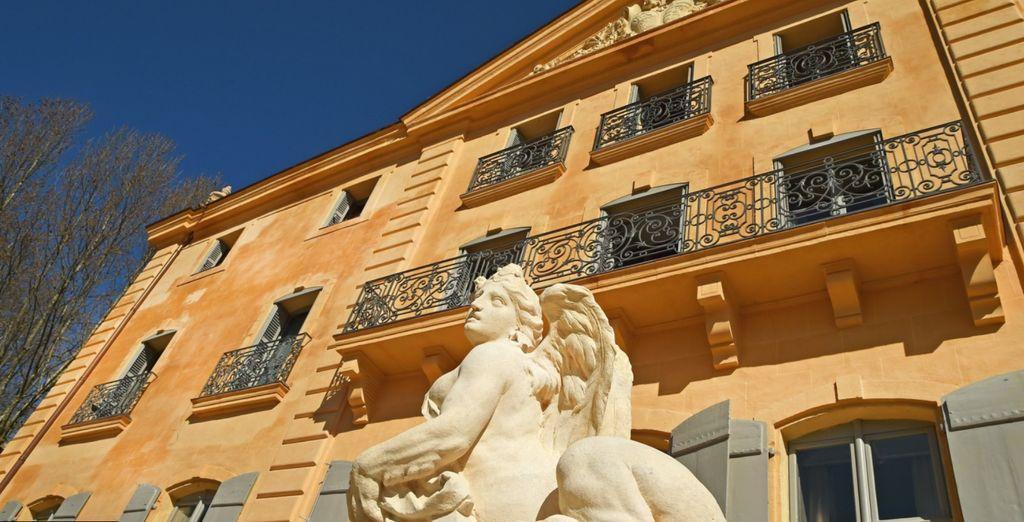 Et poussez les portes du Château de Fonscolombe