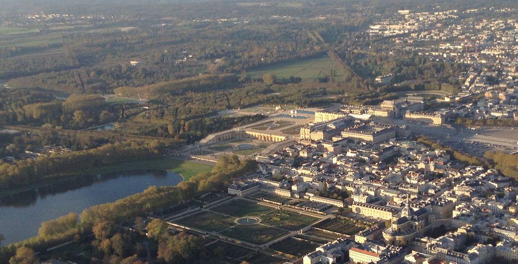 Puis Versailles...