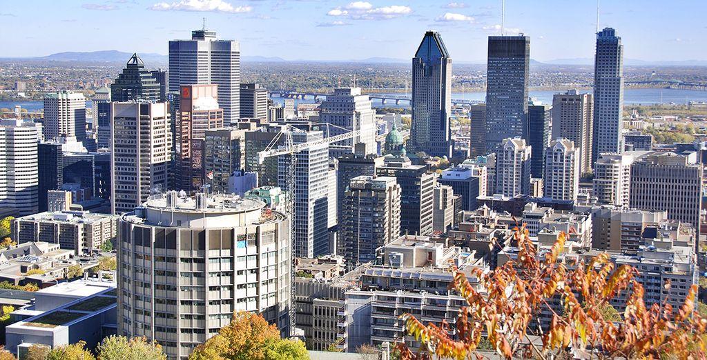 Votre voyage commencera à Montréal