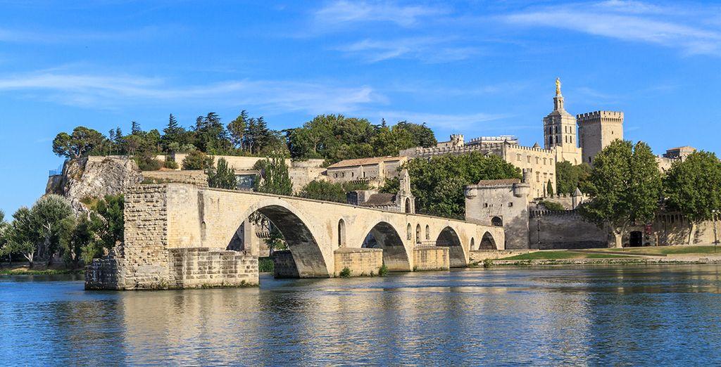 Avant de partir à la découverte d'Avignon