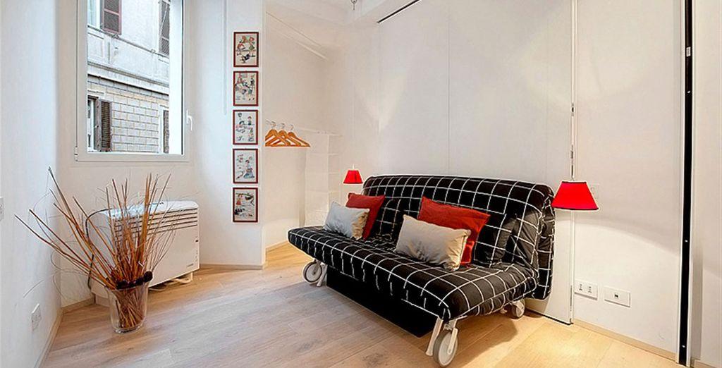 Appartement 4 : La canapé-lit