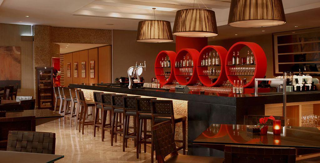 Cusine italienne dans une élégante atmosphère au Restaurant Rosso...
