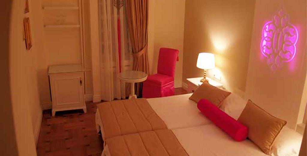 Entre deux excursions, vous pourrez vous reposer efficacement dans votre chambre Standard à l'hôtel 4* Avicenna