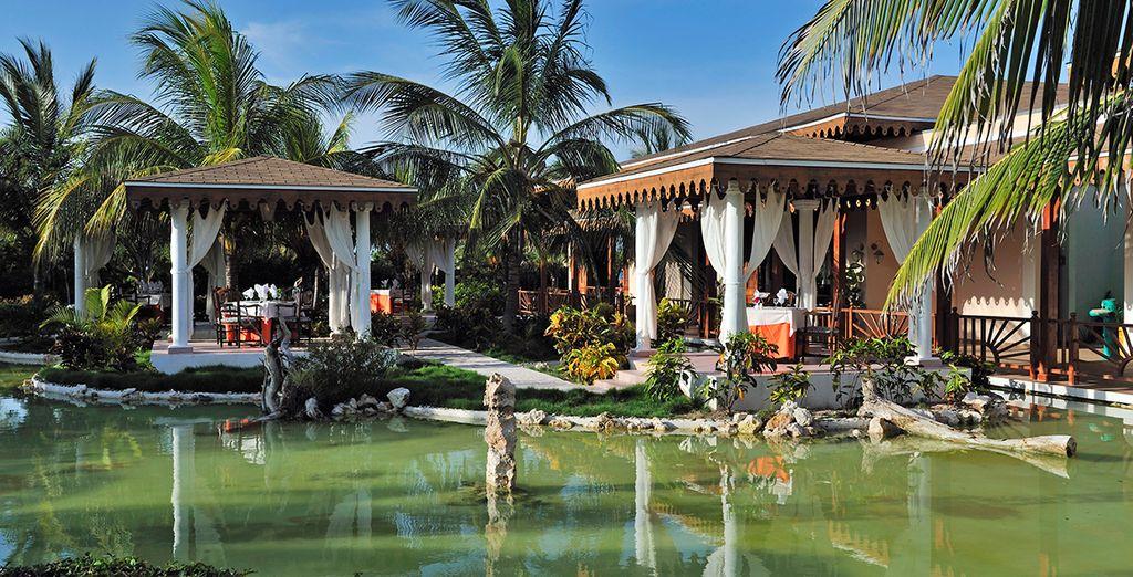 Hôtel de luxe à Cuba