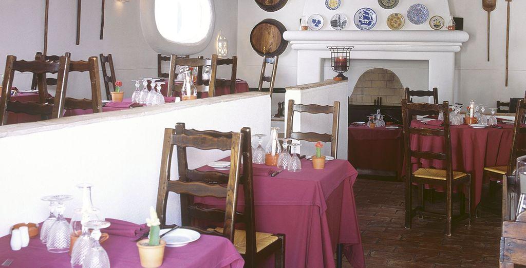 Côté saveurs, 3 restaurants seront à votre disposition...