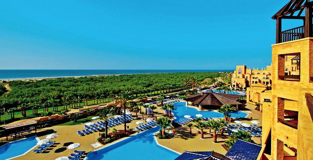 ... à l'hôtel Iberostar Isla Canela,