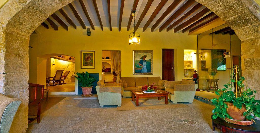 Dès votre arrivée, vous serez sensible au décor du Pula Golf Resort