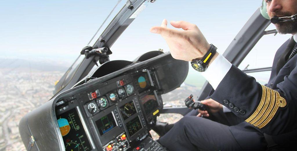 Votre pilote vous montrera toutes les facettes de la ville
