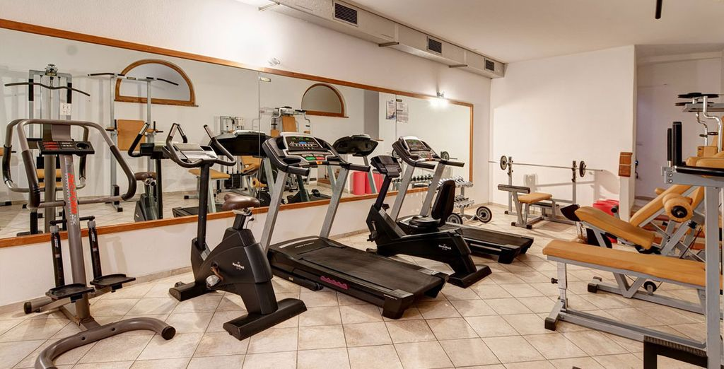 Les plus sportifs pourront s'entretenir à la salle de fitness
