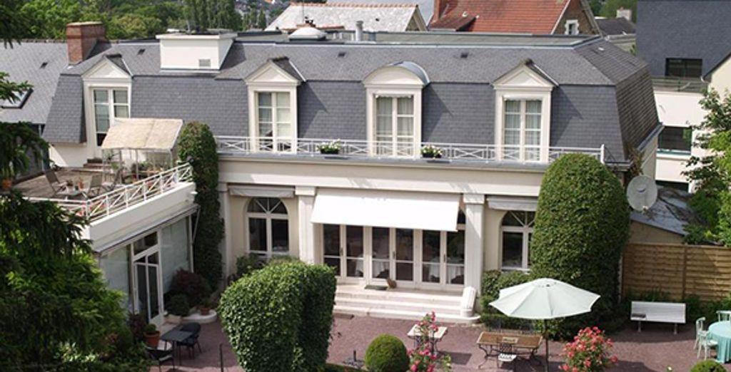Au coeur d'un havre de paix - Hôtel Lecoq Gadby **** Rennes