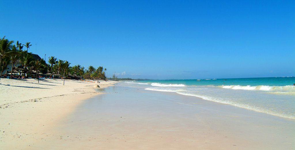 Et prélassez-vous au bord des eaux turquoise de l'océan Indien