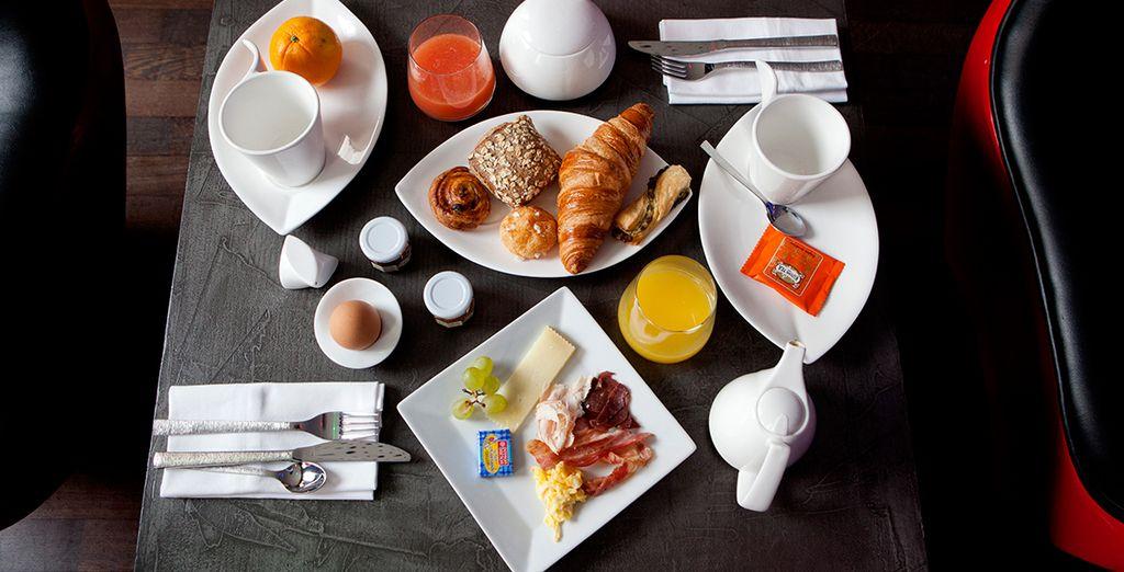Après un savoureux petit-déjeuner