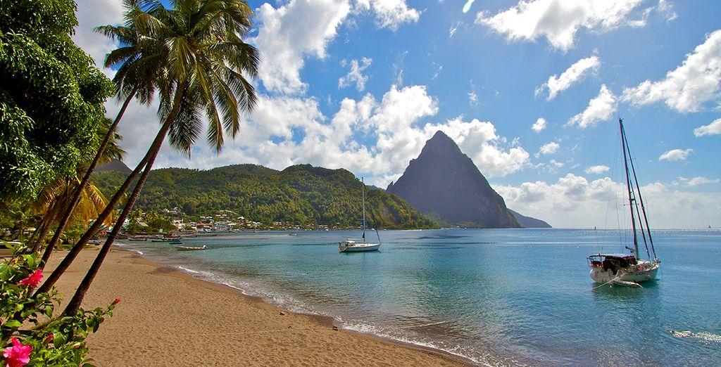 Sainte Lucie avec Voyage Prive