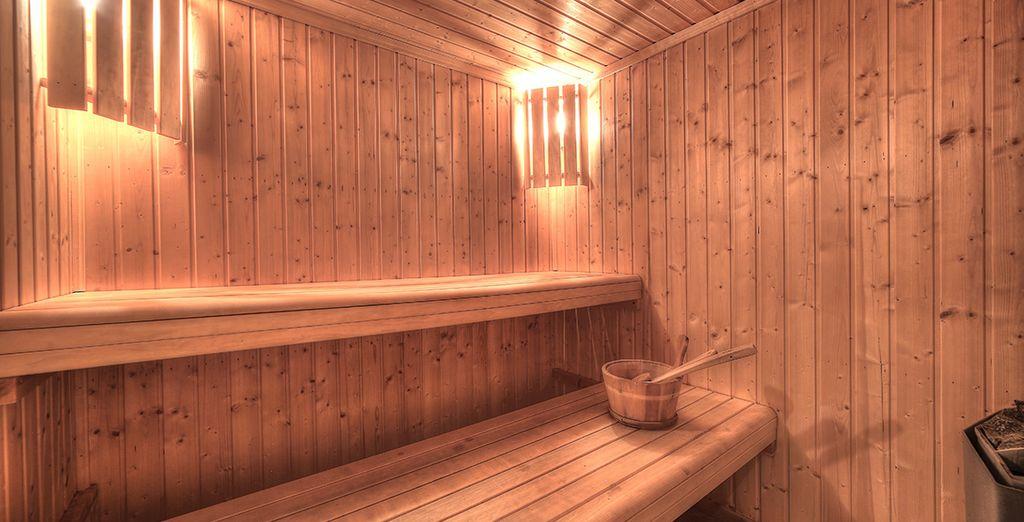 Et pour vous détendre ? Un sauna...