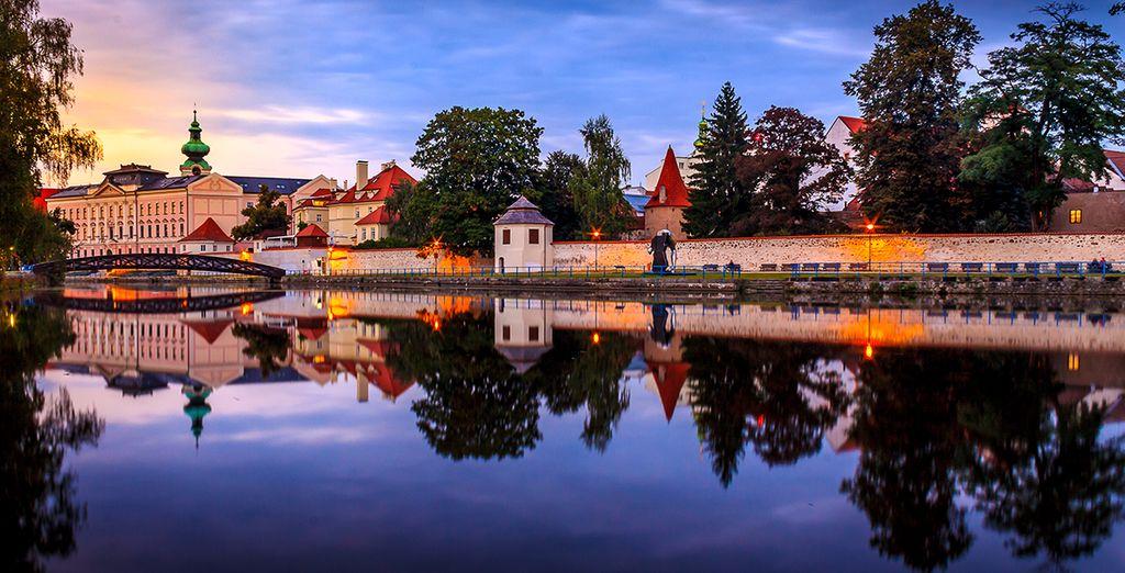 Vous poursuivrez par la ville de České Budĕjovice, célèbre pour ses brasseries