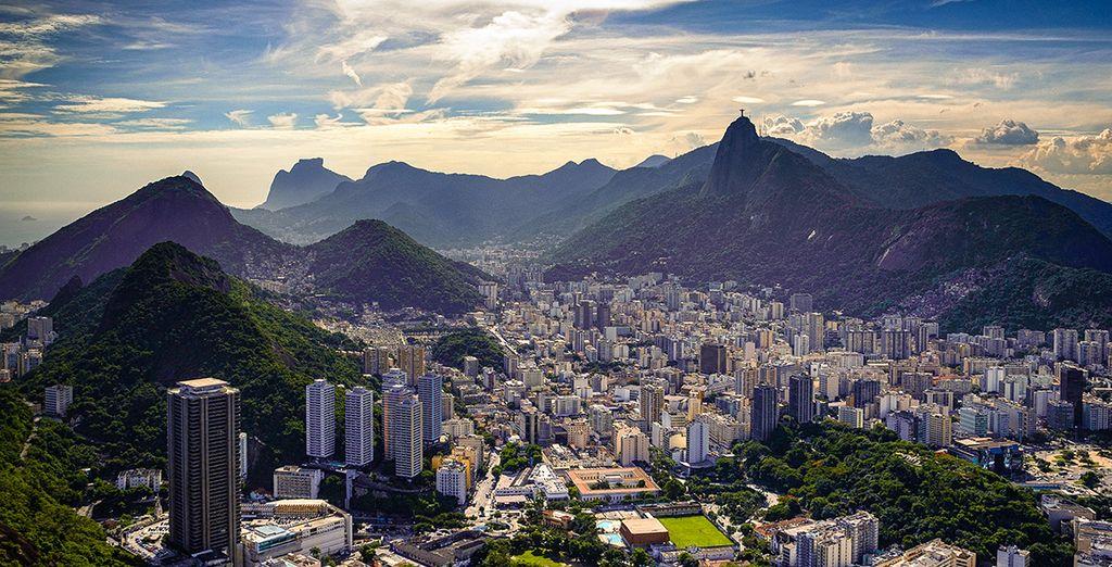 Photographie de la ville de Rio de Janeiro