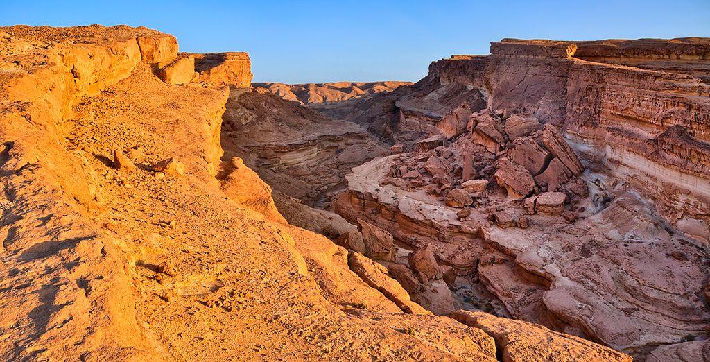 Photographie du canyon Tamerza en Tunisie