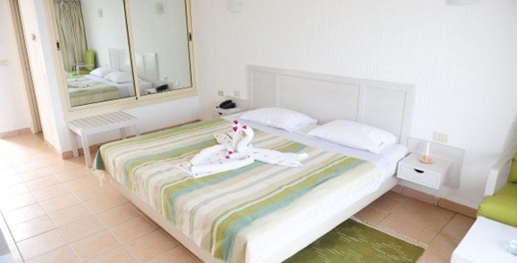 Confort en chambre Standard...