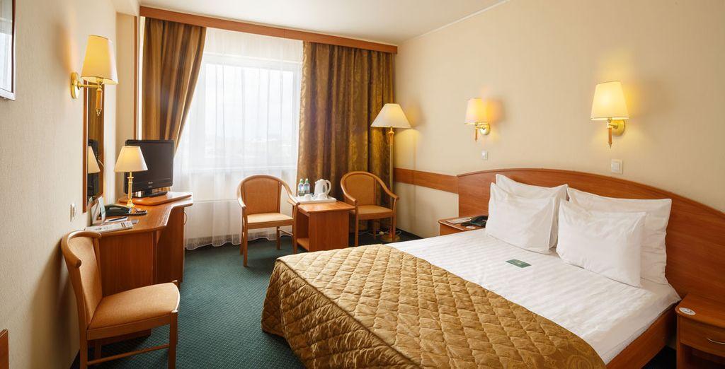 En chambre Standard, cosy et confortable