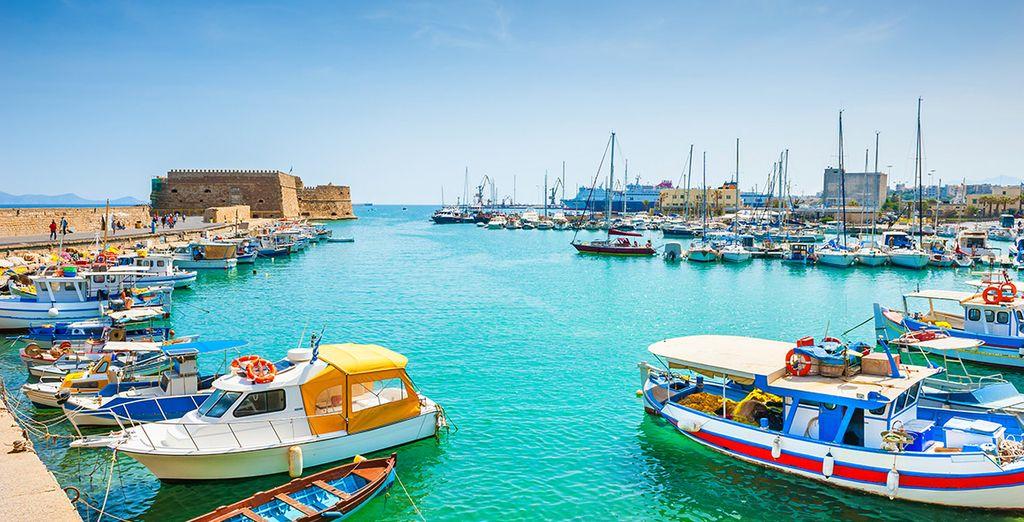 Escapade en bateau en Crète