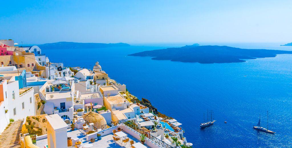Démarrez votre séjour à Santorin - Combiné Santorini Palace 4* & Relux Ios 4* Santorin