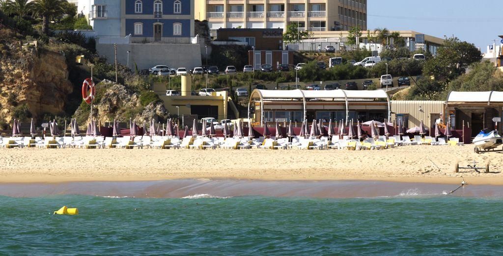 Ou choisissez la plage de sable fin...