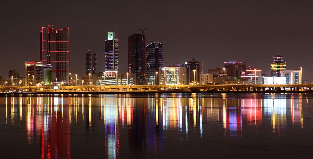 Entrez dans la capitale des Emirats, Abu Dhabi