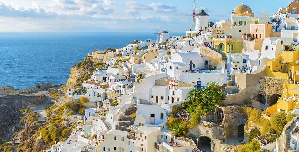 Comme Santorin, Mykonos ou la Crète