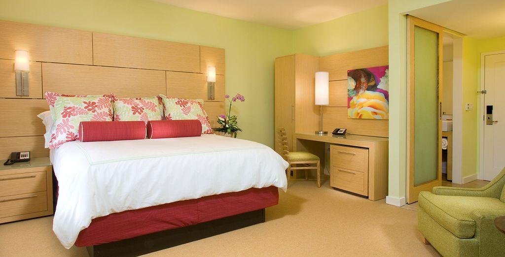 Votre confortable chambre Standard vous attend à l'hôtel Daddy O