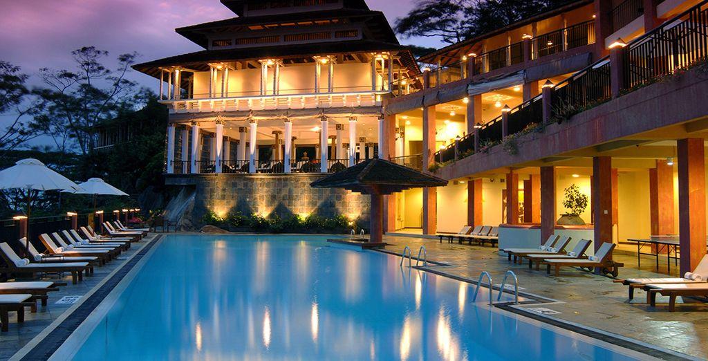 Vous vous installerez à l'hôtel Amaya Hills 4*