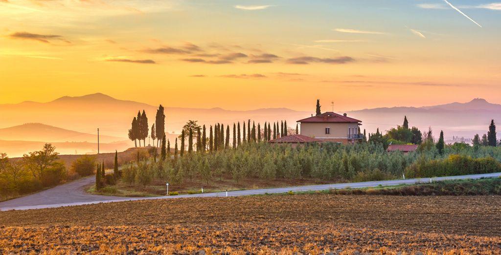 Laissez-vous charmer par la Toscane