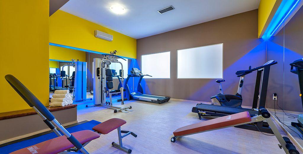 Maintenez-vous en forme au centre de fitness