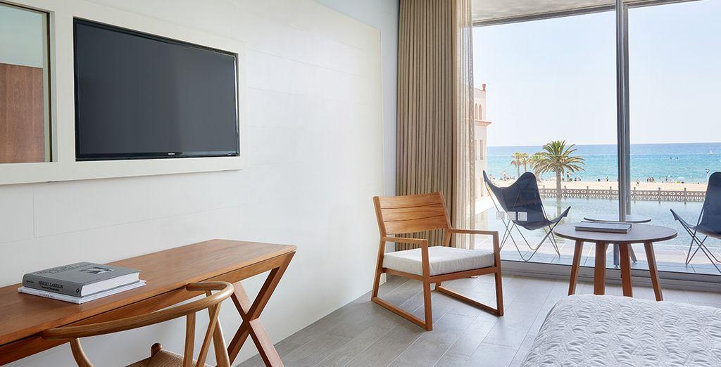 Ou choisissez la chambre Premium, en option avec supplément.