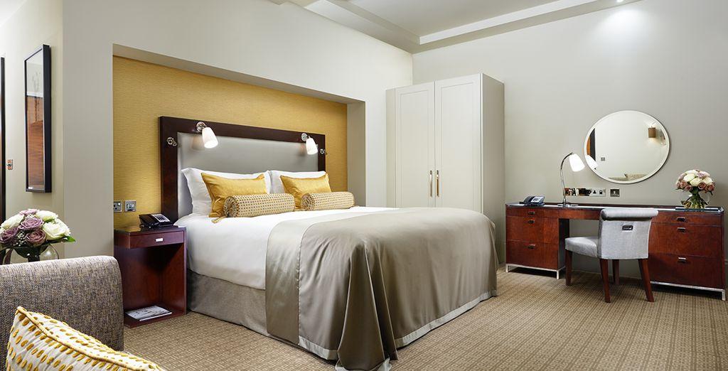 Qu'attendez-vous pour réserver votre Suite ?
